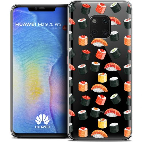 "Coque Crystal Gel Xiaomi Mate 20 PRO (6.4"") Extra Fine Foodie - Sushi"