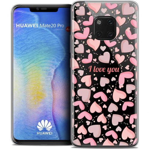 "Coque Crystal Gel Xiaomi Mate 20 PRO (6.4"") Extra Fine Love - I Love You"