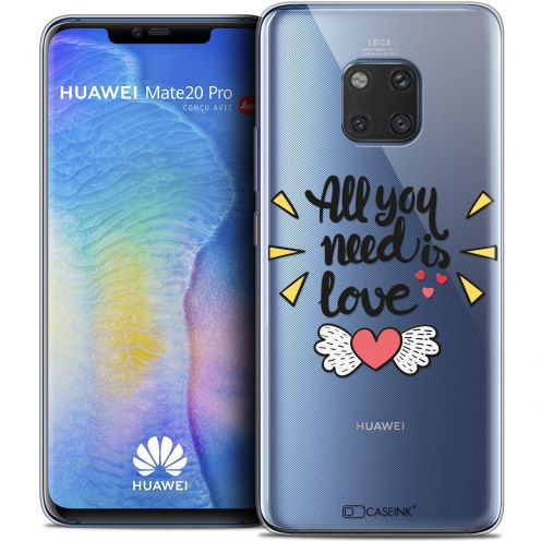 """Coque Crystal Gel Xiaomi Mate 20 PRO (6.4"""") Extra Fine Love - All U Need Is"""