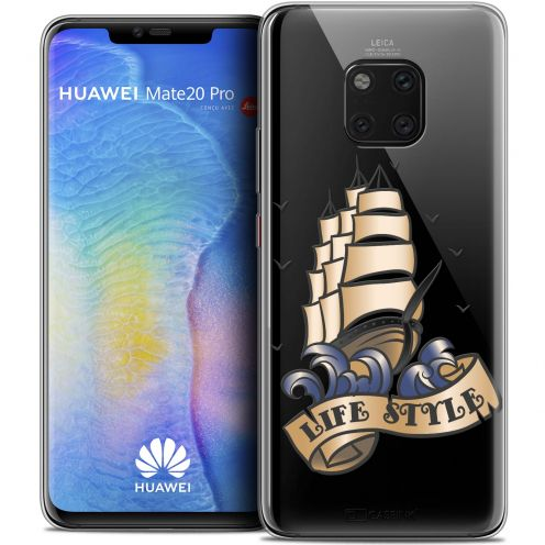 "Coque Crystal Gel Huawei Mate 20 PRO (6.4"") Extra Fine Tatoo Lover - Life Style"