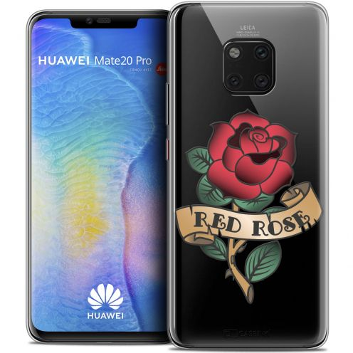 "Coque Crystal Gel Xiaomi Mate 20 PRO (6.4"") Extra Fine Tatoo Lover - Red Rose"