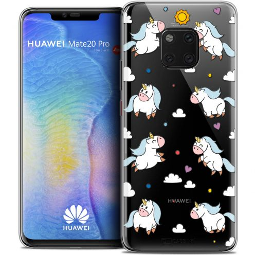 "Coque Crystal Gel Xiaomi Mate 20 PRO (6.4"") Extra Fine Fantasia - Licorne In the Sky"