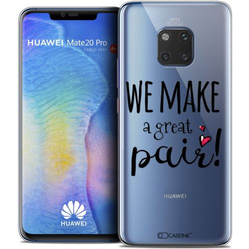 "Coque Crystal Gel Huawei Mate 20 PRO (6.4"") Extra Fine Love - We Make Great Pair"