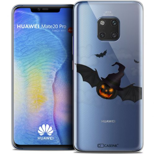"Coque Crystal Gel Xiaomi Mate 20 PRO (6.4"") Extra Fine Halloween - Chauve Citrouille"