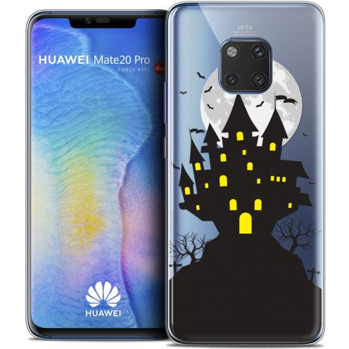 "Coque Crystal Gel Xiaomi Mate 20 PRO (6.4"") Extra Fine Halloween - Castle Scream"