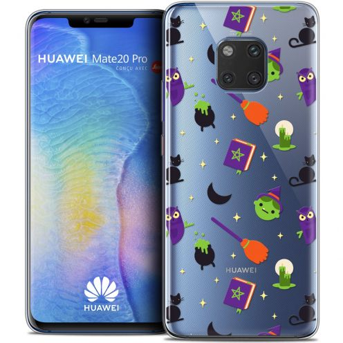 "Coque Crystal Gel Xiaomi Mate 20 PRO (6.4"") Extra Fine Halloween - Witch Potter"