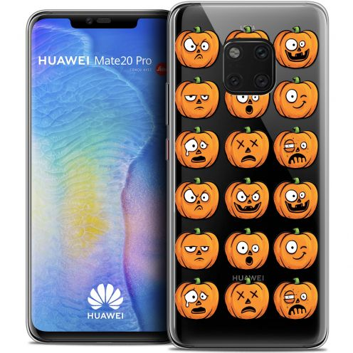 "Coque Crystal Gel Xiaomi Mate 20 PRO (6.4"") Extra Fine Halloween - Cartoon Citrouille"