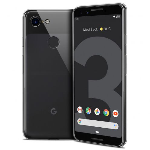 """Coque Google Pixel 3 (5.5"""") Extra Fine Souple Crystal Clear"""
