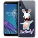 "Coque Gel Asus Zenfone Max Pro (M1) ZB601KL (6"") Extra Fine Lapins Crétins™ - I'm Ready !"