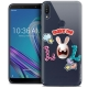 "Coque Gel Asus Zenfone Max Pro (M1) ZB601KL (6"") Extra Fine Lapins Crétins™ - LOL"