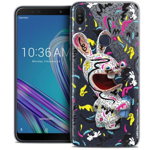"Coque Gel Asus Zenfone Max Pro (M1) ZB601KL (6"") Extra Fine Lapins Crétins™ - Tag"