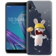 "Coque Gel Asus Zenfone Max Pro (M1) ZB601KL (6"") Extra Fine Lapins Crétins™ - Breaker"