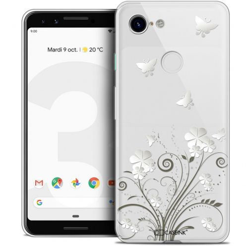 "Coque Crystal Gel Google Pixel 3 (5.5"") Extra Fine Summer - Papillons"