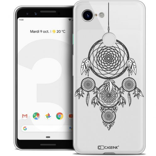 "Coque Crystal Gel Google Pixel 3 (5.5"") Extra Fine Dreamy - Attrape Rêves NB"