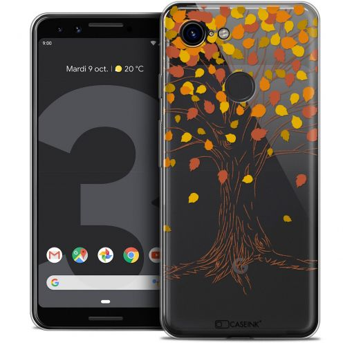 "Coque Crystal Gel Google Pixel 3 (5.5"") Extra Fine Autumn 16 - Tree"