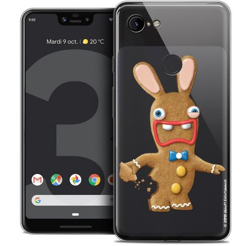 "Coque Gel Google Pixel 3 XL (6.3"") Extra Fine Lapins Crétins™ - Cookie"