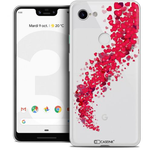 "Coque Crystal Gel Google Pixel 3 XL (6.3"") Extra Fine Love - Tornado"