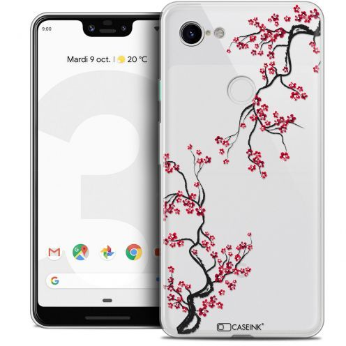 "Coque Crystal Gel Google Pixel 3 XL (6.3"") Extra Fine Summer - Sakura"