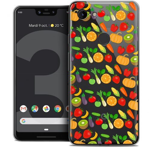 "Coque Crystal Gel Google Pixel 3 XL (6.3"") Extra Fine Foodie - Healthy"