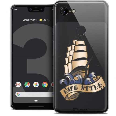 "Coque Crystal Gel Google Pixel 3 XL (6.3"") Extra Fine Tatoo Lover - Life Style"