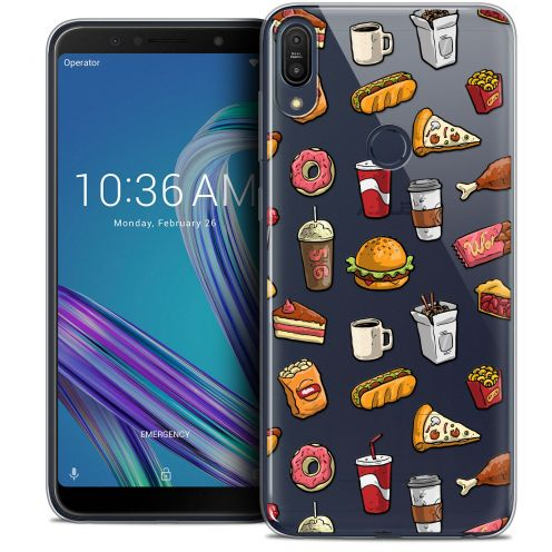 "Coque Crystal Gel Asus Zenfone Max Pro (M1) ZB601KL (6"") Extra Fine Foodie - Fast Food"