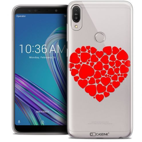 "Coque Crystal Gel Asus Zenfone Max Pro (M1) ZB601KL (6"") Extra Fine Love - Coeur des Coeurs"