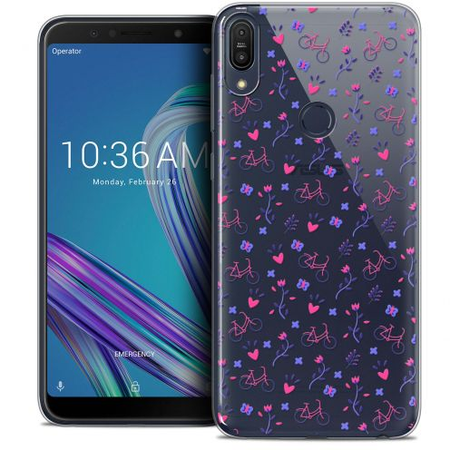 """Coque Crystal Gel Asus Zenfone Max Pro (M1) ZB601KL (6"""") Extra Fine Love - Bicycle"""