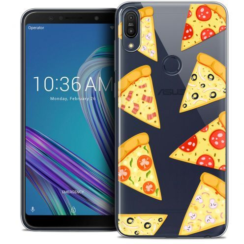 "Coque Crystal Gel Asus Zenfone Max Pro (M1) ZB601KL (6"") Extra Fine Foodie - Pizza"
