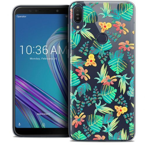 "Coque Crystal Gel Asus Zenfone Max Pro (M1) ZB601KL (6"") Extra Fine Spring - Tropical"