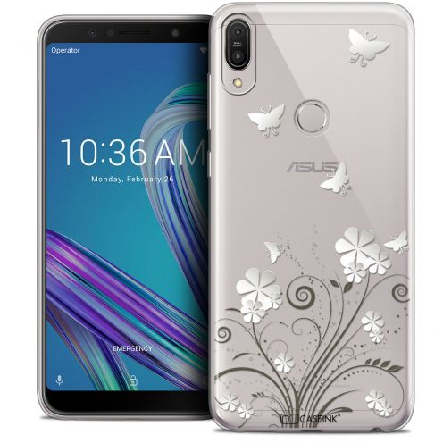 "Coque Crystal Gel Asus Zenfone Max Pro (M1) ZB601KL (6"") Extra Fine Summer - Papillons"