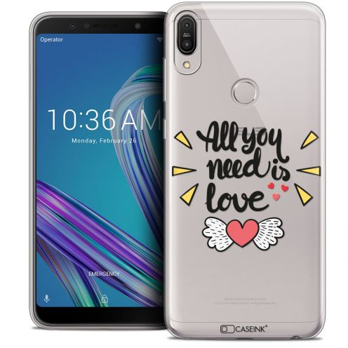"""Coque Crystal Gel Asus Zenfone Max Pro (M1) ZB601KL (6"""") Extra Fine Love - All U Need Is"""