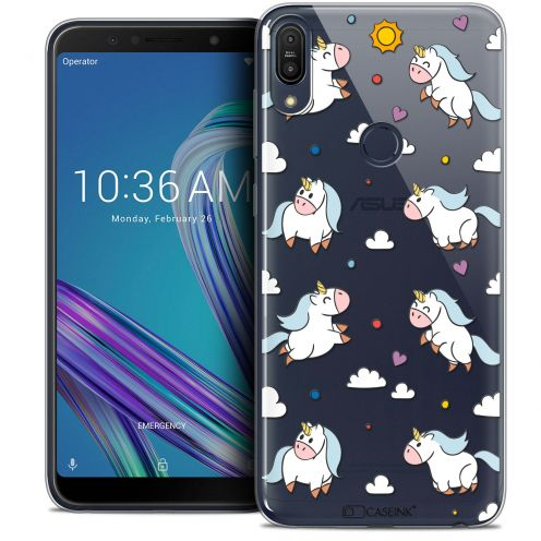 """Coque Crystal Gel Asus Zenfone Max Pro (M1) ZB601KL (6"""") Extra Fine Fantasia - Licorne In the Sky"""
