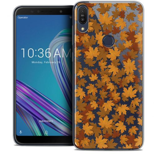 "Coque Crystal Gel Asus Zenfone Max Pro (M1) ZB601KL (6"") Extra Fine Autumn 16 - Feuilles"