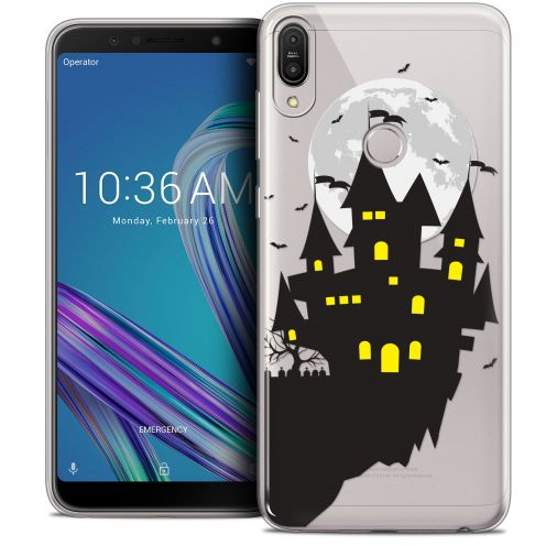 "Coque Crystal Gel Asus Zenfone Max Pro (M1) ZB601KL (6"") Extra Fine Halloween - Castle Dream"