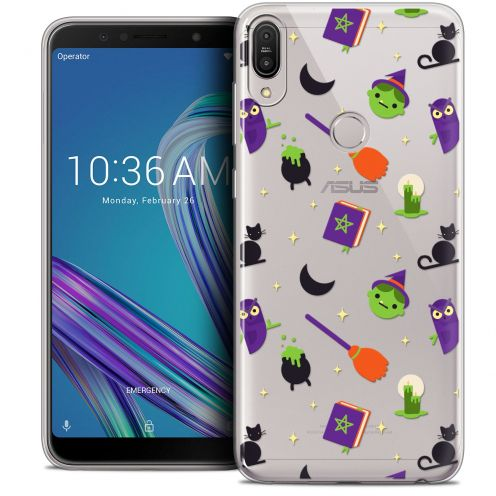 "Coque Crystal Gel Asus Zenfone Max Pro (M1) ZB601KL (6"") Extra Fine Halloween - Witch Potter"