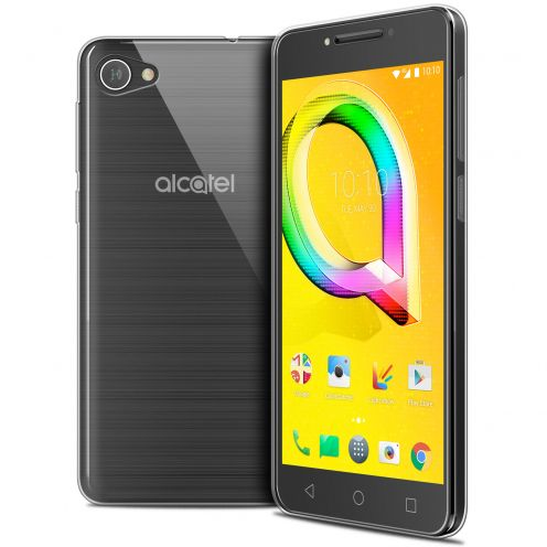 """Coque Alcatel A5 LED (5.2"""") Extra Fine Souple Crystal Clear"""