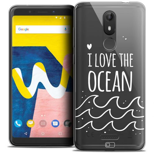 "Coque Crystal Gel Wiko View LITE (5.45"") Extra Fine Summer - I Love Ocean"