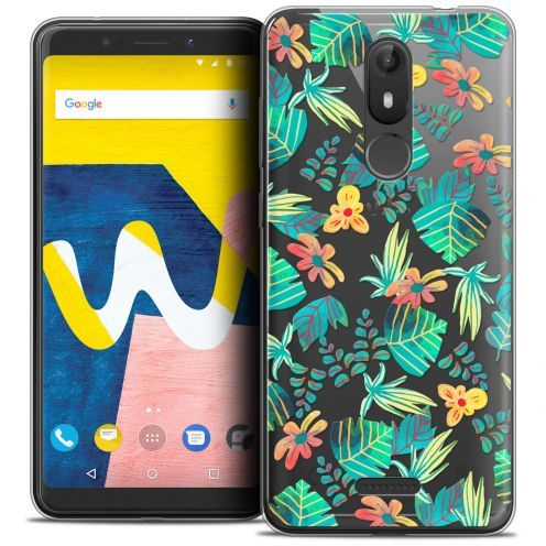 """Coque Crystal Gel Wiko View LITE (5.45"""") Extra Fine Spring - Tropical"""