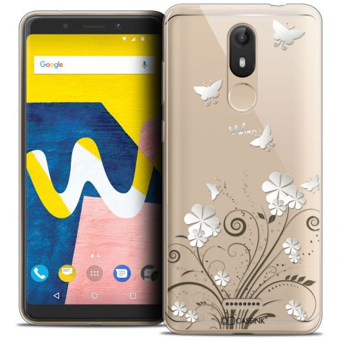 """Coque Crystal Gel Wiko View LITE (5.45"""") Extra Fine Summer - Papillons"""