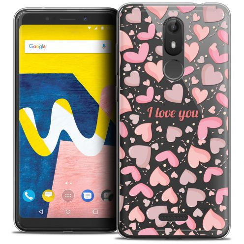 "Coque Crystal Gel Wiko View LITE (5.45"") Extra Fine Love - I Love You"