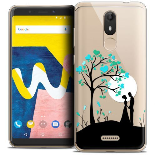"Coque Crystal Gel Wiko View LITE (5.45"") Extra Fine Love - Sous l'arbre"