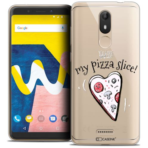 "Coque Crystal Gel Wiko View LITE (5.45"") Extra Fine Love - My Pizza Slice"