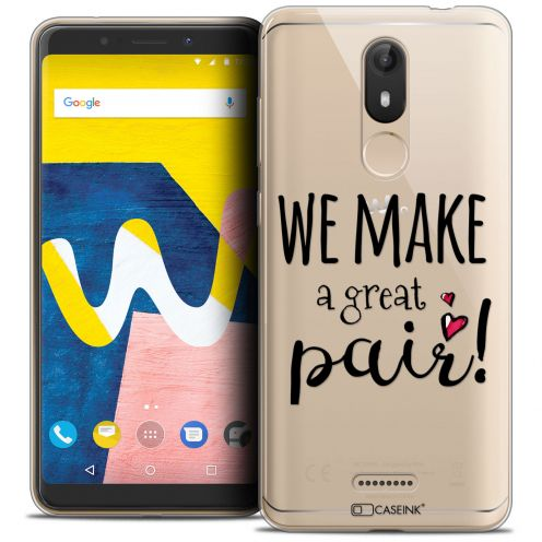 """Coque Crystal Gel Wiko View LITE (5.45"""") Extra Fine Love - We Make Great Pair"""
