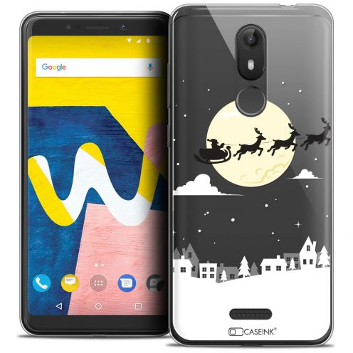 """Coque Crystal Gel Wiko View LITE (5.45"""") Extra Fine Noël 2017 - Flying Stanta"""