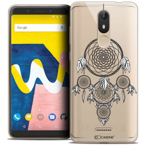 "Coque Crystal Gel Wiko View LITE (5.45"") Extra Fine Dreamy - Attrape Rêves NB"