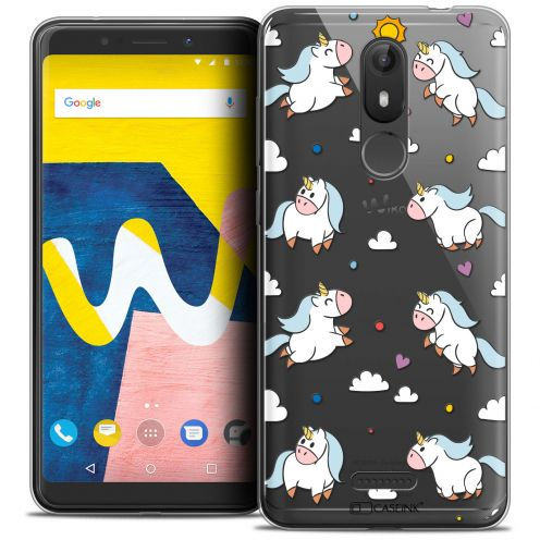 """Coque Crystal Gel Wiko View LITE (5.45"""") Extra Fine Fantasia - Licorne In the Sky"""