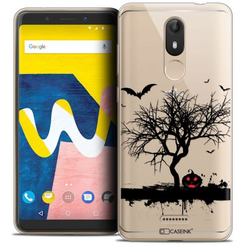 "Coque Crystal Gel Wiko View LITE (5.45"") Extra Fine Halloween - Devil's Tree"