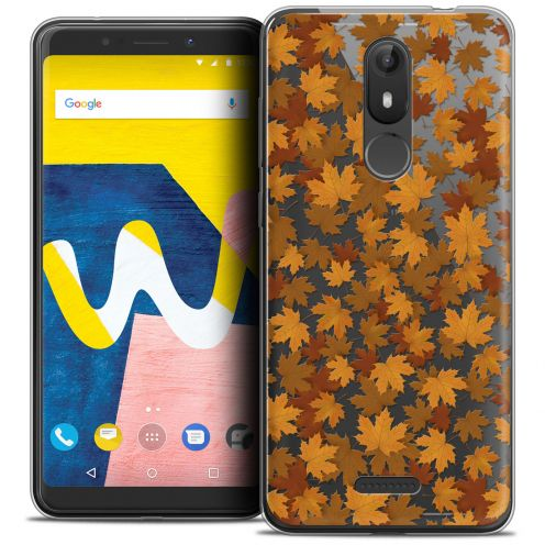 "Coque Crystal Gel Wiko View LITE (5.45"") Extra Fine Autumn 16 - Feuilles"
