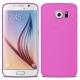 Vue détaillée de Coque Ultra Fine 0.3mm Frost Samsung Galaxy S6 rose
