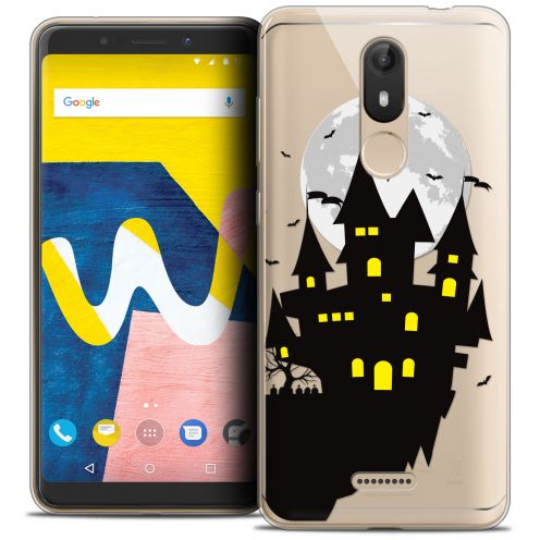 "Coque Crystal Gel Wiko View LITE (5.45"") Extra Fine Halloween - Castle Dream"